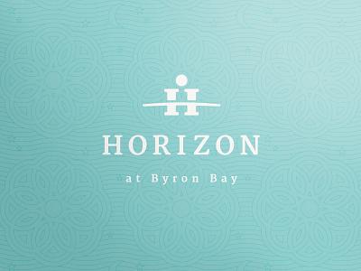 Horizon at Byron Bay branding corporate identity gold coast australia logo logo design verg verg advertising matt vergotis design agency h horizon sun weddings marriage moon star