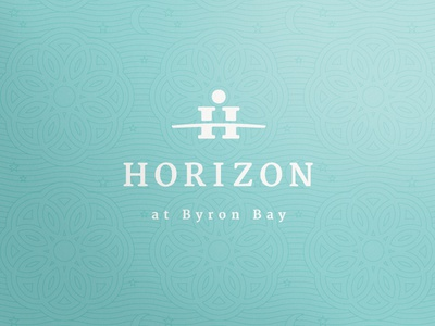 Horizon at Byron Bay branding corporate identity gold coast australia logo logo design verg verg advertising matt vergotis design agency h horizon sun weddings marriage moon star
