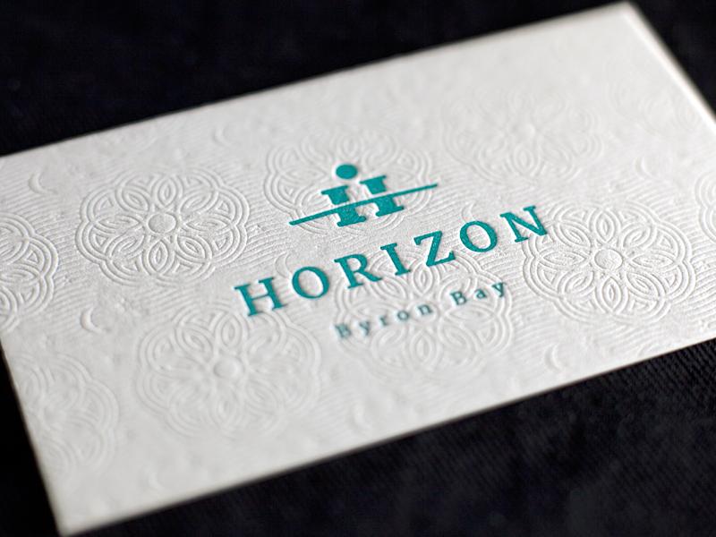 Letterpress business cards by matt vergotis dribbble horizon letterpress colourmoves