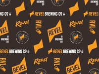 Revel Brewing Co mark lettering beer label brewery craft beer beer logo