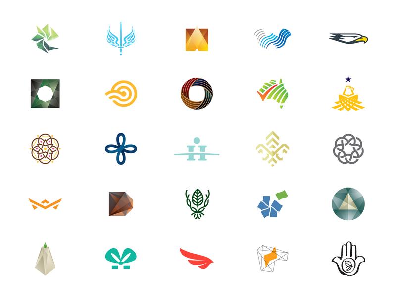 logos icon logomark mark logo design logo