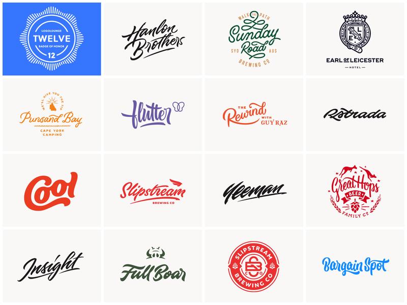 logolounge brewery beer emblem crest logomark mark lettering logos logo