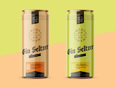 2020 Seltzer seltzer logo lettering packaging design packaging can design distillery