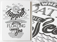 #HelpSaveElke Letterpress prints