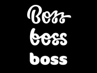Which Boss?