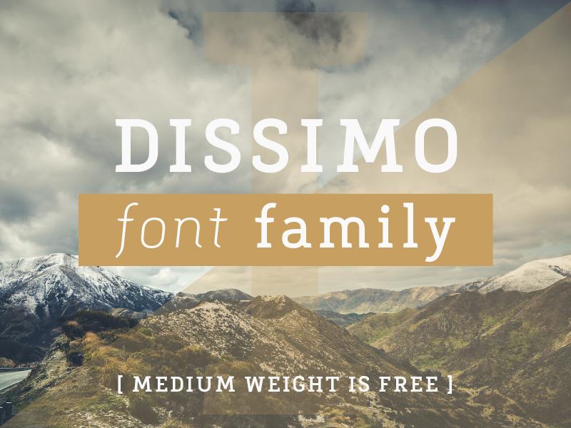 FREE FONT serif slab font family freebie free font