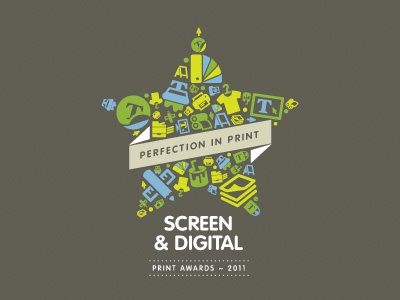 Print Awards Logo branding corporate identity logo logo design verg verg advertising matt vergotis design agency