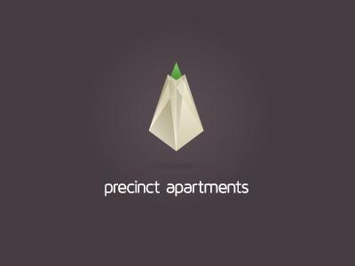 Precinct branding corporate identity logo logo design verg verg advertising matt vergotis design agency gem property development