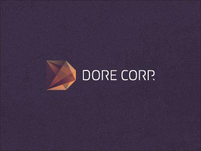 Dore Corp branding corporate identity logo logo design verg verg advertising matt vergotis design agency gem property development
