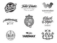 Logofolio In Black & White