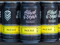 Black Hops Brewery - Pale Ale Cans