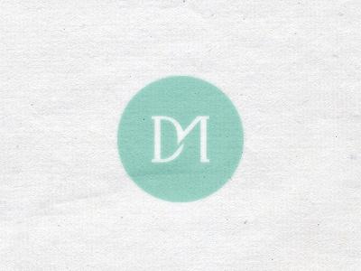 Monogram branding corporate identity logo logo design verg verg advertising matt vergotis design agency monogram m dm d