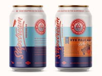 Slipstream Brewing Co Cans