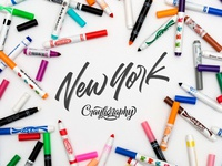 Crayligraphy Workshops New York City