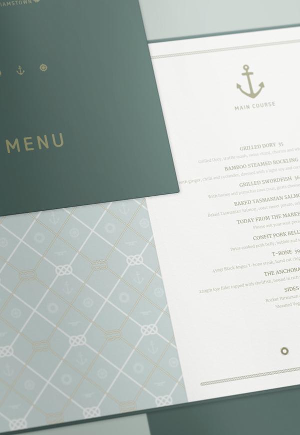 Anchorage menu