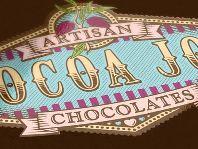 Cocoa jos sticker