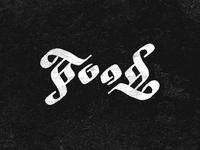 Food Ambigram