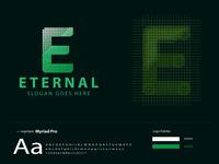 E Letter Logo - ETERNAL