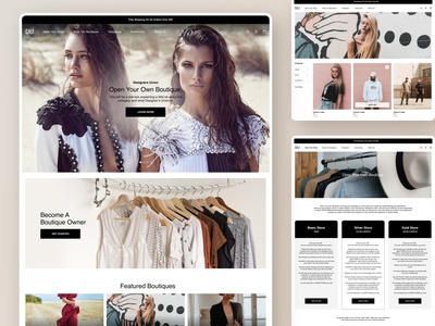 Designer's Union web ui website design branding