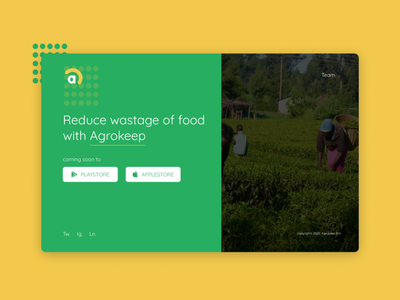 agrokeep ui frontend ux design website design website webdesign