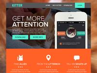 Kitter Landing Page