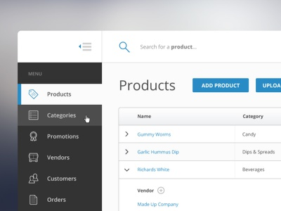Backend Admin juicicons ui flat app clean web interface design admin backend data table