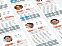 Dev Profile Cards