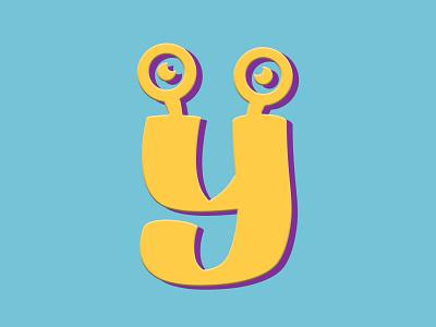 Eye Monsta lettering logotype typography