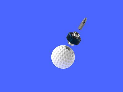 Screw This Sport illustration industrial design design 3d