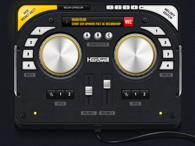 Mixing tool dj deejay mixing turntables music house knobs displays