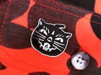 Xray Cat Trio pin.