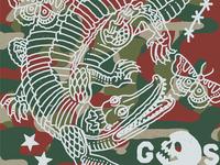 ghost croc print 2
