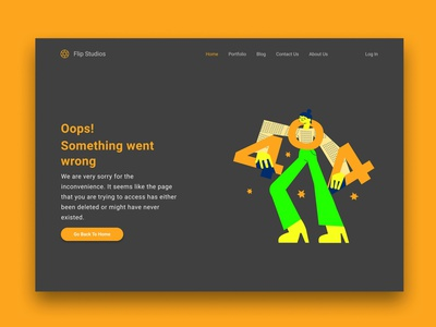 404 error page design for a photography website graphic design ui