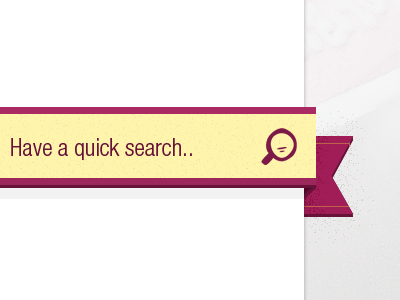 Quick search texture search input icon steedicons ribbon nav
