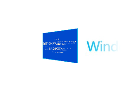 Error! windows redesign logo