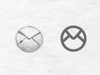 Round Mail icon