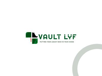 Mapping Vault Lyf Logo illustration design corporate identity brand identity business logo minimalist logo flatlogo branding us uk canada america africa region country locations logo mapping