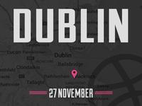 Dribbble Dublin Meetup - 27th November