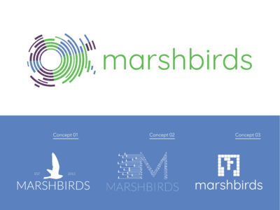 Marshbirds logo redesign