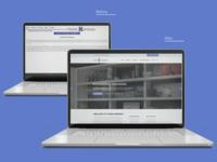 Home Harmony website redesign