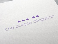 the purple alligator