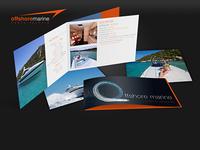 Print Creation Brochure Affiche Offshore Marine Porto Vecchio Ag