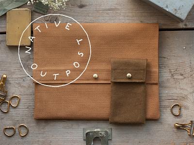 Native Outpost progress fabric logo biz ecommerce
