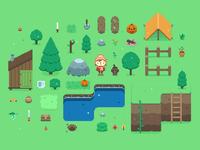 Pixel game update