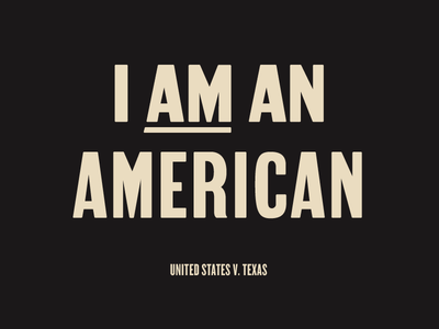 Custom type for Define American protest signage fun letters font typography type