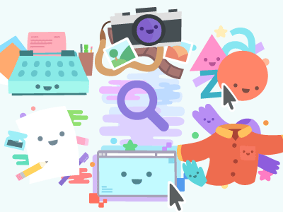 Woah icons vector color