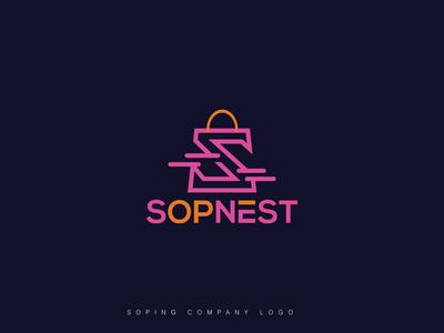 SOPING COMPANY-S Latter logo Visit My Portfolio : https://bit.ly