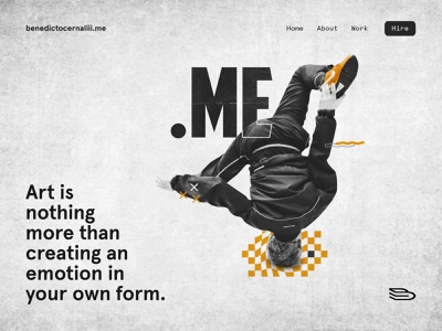 Dot Me: Homepage expressyourselfwithdotme userinterface ui design webdesign website concept website design home page homepage design website homepage analogue