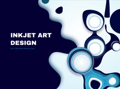 Inkjet art design