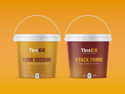 TintEX Industrial Paint Packaging